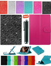 """New Universal Folio Leather Flip Case Cover For Android Tablet PC 9.7"""" 10"""" 10.1'"""