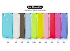Apple iPhone 4 / iPhone 4s Silicon Soft Back Case Cover