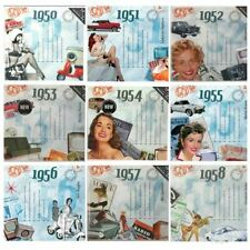 Birthday or Anniversary gifts - Hit Music CD and Greeting Card any year in1950s