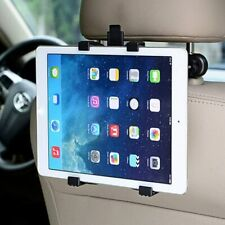 "Adjustable Universal In Car Headrest Seat Holder For Any iPad Tab 7"" To 11"""