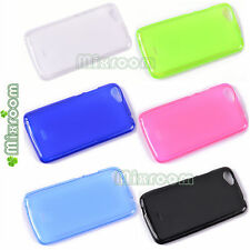 CUSTODIA COVER MORBIDA IN SILICONE TPU PER WIKO RAINBOW JAM