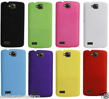 For Huawei Honor Holly Matte Rubberized Hard Back Case Cover