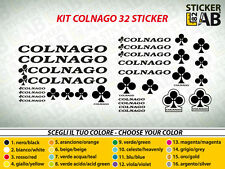 KIT 32 ADESIVI BICI STICKER COLNAGO BICI CORSA STICKERS MTB COLNAGO NEW