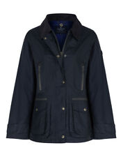 Country Attire Women's Ivy Wax Jacket - Navy
