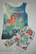 PRIMARK LADIES ARIEL THE LITTLE MERMAID PYJAMA SEPARATES / SET T SHIRT LEGGINGS