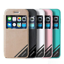 Usams Viva Series PU Leather Flip Case Cover For Apple Iphone 6 / 6S