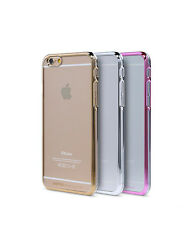 Luxury Ultra Thin Transparent iPhone 5 & 5S Back Cover Case