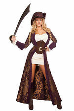 Sexy Costume De Pirate Femme luxe complet Choix taille Carnaval
