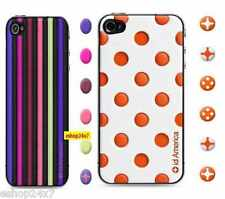 Cushi Soft Foam Back Pad + Front Screen Guard + Home Buttons for iPhone 4 4S