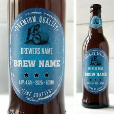 24 MATTE GLOSS HOMEBREW HOME BREW BOTTLE LABELS HOME BREW 24 in a pack