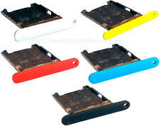 Replacement Sim Tray Sim Card Holder + SD Memory Card Tray for Nokia Lumia 720