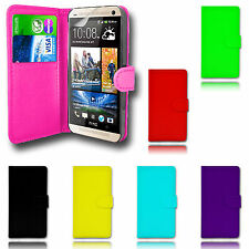 Magnetic Wallet Flip Book Holder Leather Pu Case Cover For HTC Various Phones