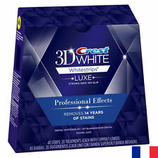 C R E S T* 3D BLANCHIMENT PACK LUXE DENT NIVEAU 4 NEUF