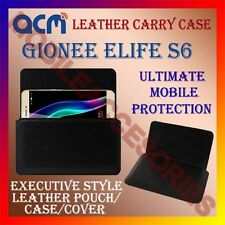 ACM-HORIZONTAL LEATHER CARRY CASE for GIONEE ELIFE S6 MOBILE COVER HOLDER LATEST
