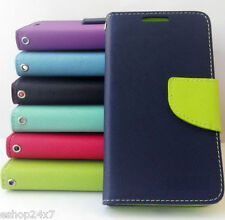 Leather Flip Wallet Cover Case Card Slot for Samsung Galaxy Note 3 Neo N7505