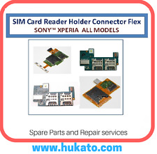 Sim / Memory Card Reader Holder Flex Cable Ribbon For Sony Xperia All Models