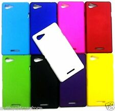 FOR SONY XPERIA E3 DUAL IMPORTED MATTE FINISH MULTI COLOR HARD BACK CASE COVER