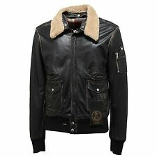 0933N giubbotto uomo S.W.O.R.D. gold limited edition nero jacket coat men