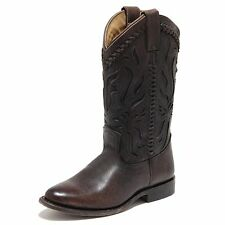 4578L stivali texani donna marroni FRYE wyatt overlay scarpe boots shoes women