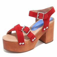 4386M sandali donna JEFFREY CAMPBELL legno peasy women shoes sandals