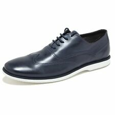 9796M scarpe HOGAN francesina uomo sneaker shoes man blu