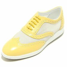 7014F scarpa HOGAN H 209 DRESS XL FRANCESINA BUCATURE sneaker donna shoes women
