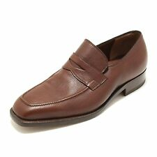 3513G mocassino uomo marrone FRATELLI ROSSETTI BURGOS  scarpa loafer shoes men