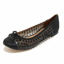 3240I ballerine donna nere JEFFREY CAMPBELL astair spike scarpe shoes women