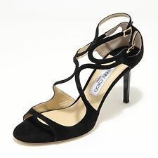 3424L sandali donna neri JIMMY CHOO scarpe shoes sandals women