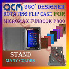 "ACM-DESIGNER ROTATING 360° 7"" COVER CASE STAND for MICROMAX FUNBOOK P300 TABLET"