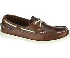 Sebago Docksides Moccasin Men's Deck shoes B720243 Brown Oiled Waxy NEW