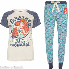 PRIMARK LADIES ARIEL THE LITTLE MERMAID PYJAMA SEPARATES or SET T PYJAMAS