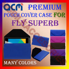 ACM-PREMIUM POUCH LEATHER CARRY CASE for FLY SUPERB MOBILE COVER HOLDER PROTECT