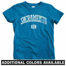 Sacramento 916 Kids T-shirt - Baby Toddler Youth Tee - California Sac-Town Cali
