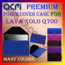 ACM-PREMIUM POUCH LEATHER CARRY CASE for LAVA XOLO Q700 MOBILE COVER HOLDER NEW
