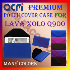 ACM-PREMIUM POUCH LEATHER CARRY CASE for LAVA XOLO Q900 MOBILE COVER HOLDER NEW