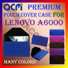 ACM-PREMIUM POUCH LEATHER CARRY CASE for LENOVO A6000 MOBILE COVER HOLDER LATEST