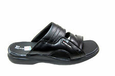 RED CHIEF BRANDED CASUAL LEATHER SANDAL AND FLOATERS IN BLACK COLORS(COD AVIABLE