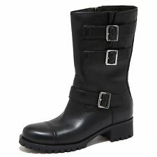 6714N stivale donna PRADA SPORT nero shoes woman boots