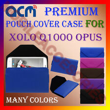 ACM-PREMIUM POUCH LEATHER CARRY CASE for XOLO Q1000 OPUS MOBILE COVER HOLDER NEW