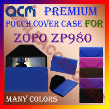 ACM-PREMIUM POUCH LEATHER CARRY CASE for ZOPO ZP980 MOBILE COVER HOLDER PROTECT