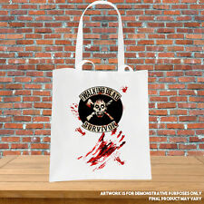 Printed Tote Bag The Walking Dead Survivor Bloody Zombie Printed Inspired