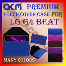 ACM-PREMIUM POUCH LEATHER CARRY CASE for LG G4 BEAT MOBILE COVER HOLDER PROTECT
