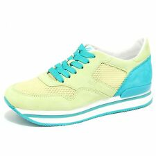 6417N sneaker HOGAN lime verde scarpe donna shoes women