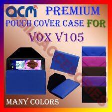 ACM-PREMIUM POUCH LEATHER CARRY CASE for VOX V105 TABLET TAB COVER HOLDER LATEST