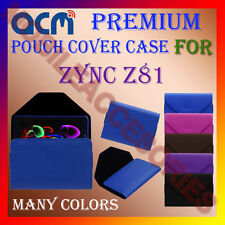 ACM-PREMIUM POUCH LEATHER CARRY CASE for ZYNC Z81 TABLET TAB COVER HOLDER LATEST