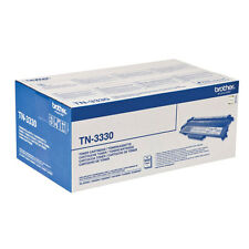 AUTENTICO BROTHER TN-3330 NERO STAMPANTE LASER CARTUCCIA del toner -