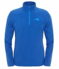The North Face Herren 100 Glacier 1/4 Zip Limoges Blue