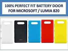 100% New Battery Back Door Panel Shell Case Cover Microsoft / Nokia Lumia 820