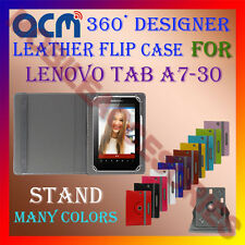 ACM-ROTATING 360° LEATHER FLIP STAND COVER CASE for LENOVO TAB A7-30 TABLET TAB